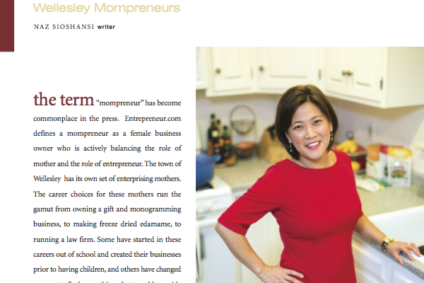 eda-zen in Wellesley Magazine Business